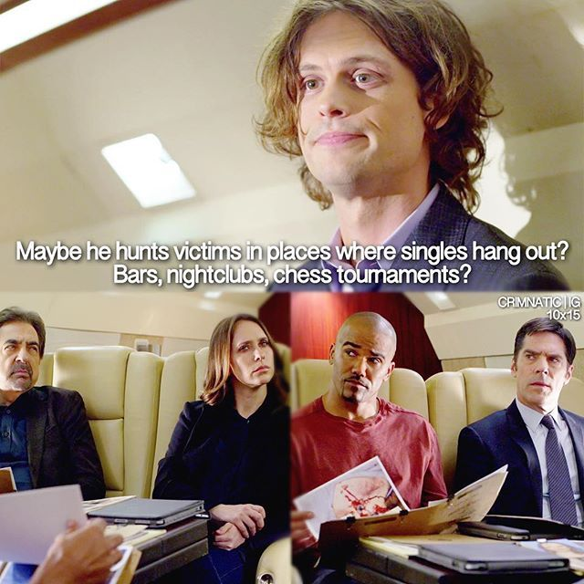 """Loving me some Dr. Spencer Reid"" HA! HA!"