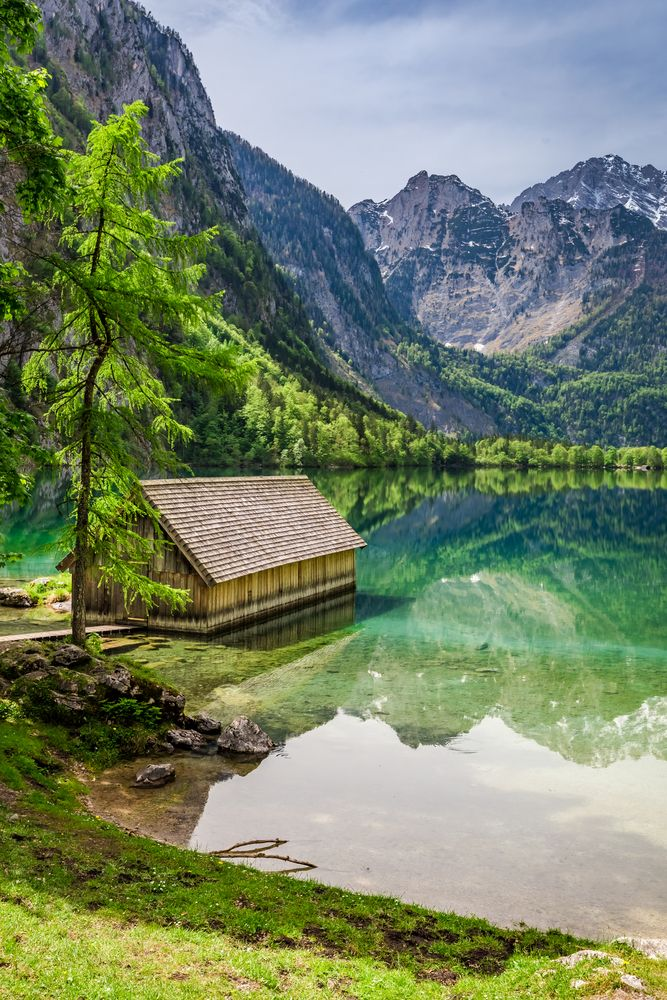 Obersee Lake, Germany.