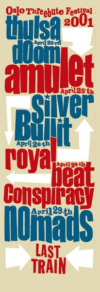 Thulsa Doom - Amulet - Silver Bullit - Royal Beat Conspiracy - Nomads by Are Kleivan