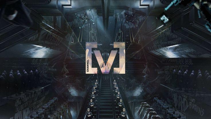 Channel [V] - Ident Campaign & Rebrand on Vimeo
