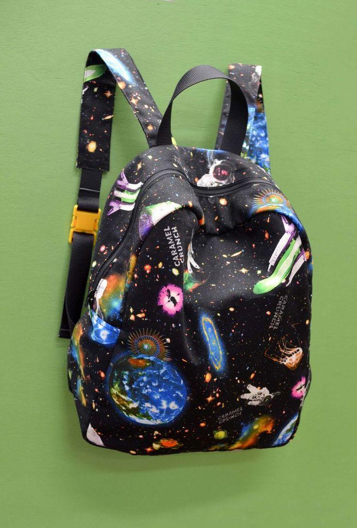 宇宙柄のリュックサック | コッカファブリック・ドットコム|布から始まる楽しい暮らし|kokka-fabric.com