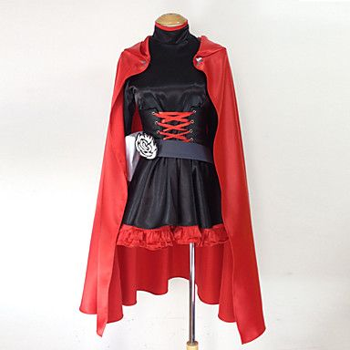 RWBY Red Trailer Ruby Rose Cosplay Costume – USD $ 99.99
