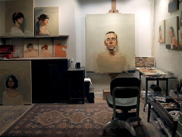 Kai Samuels Davis Windy Lane Studio Workspace