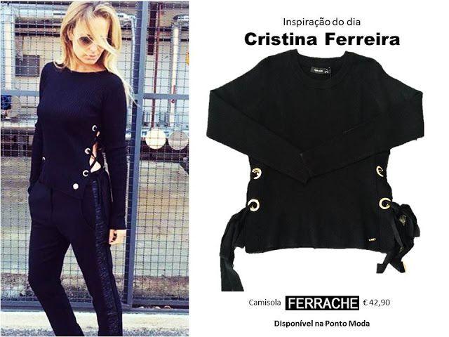 Ponto Moda: A camisola da Cristina Ferreira - outono 2016