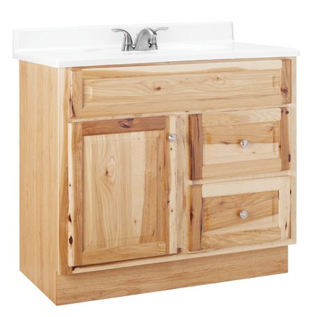 HAMILTON #Bathroom #Vanity Collection U2013 Available In Hickory (above), Oak  And