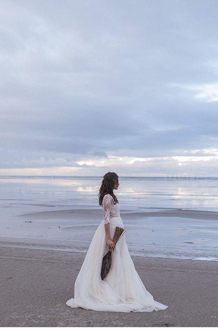 Mystisches Elfenkleid-Shoot am Strand von St. Peter Ording von Maria Luise Bauer Photography - Hochzeitsguide