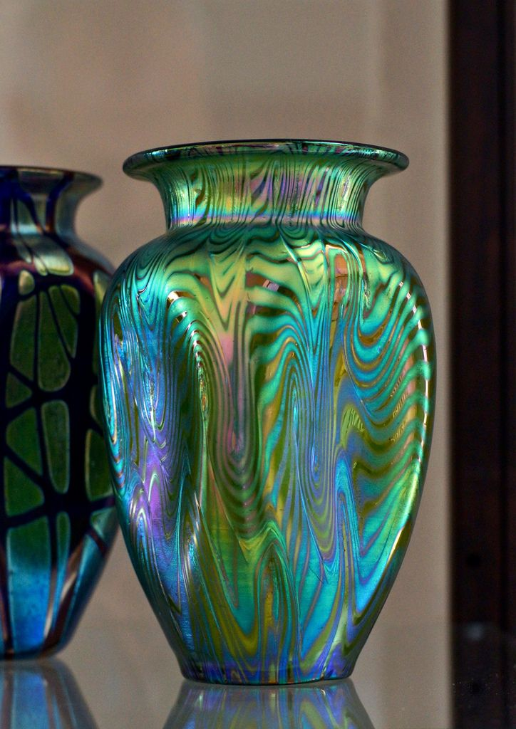 Loetz Art Glass vase circa 1900  Tony Abbate
