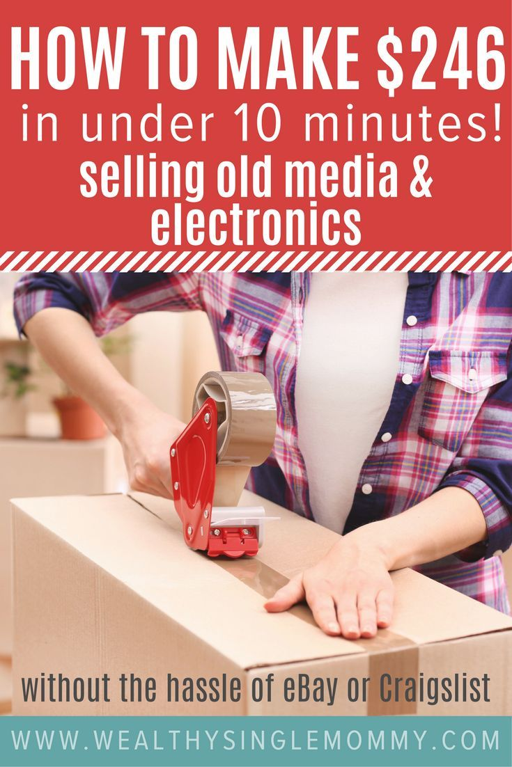 The quickest way to make money selling items you already own. Sell old media and electronics online in under 10 minutes without the hassle of eBay or Craigslist. I made $246 using Decluttr! via @johnsonemma