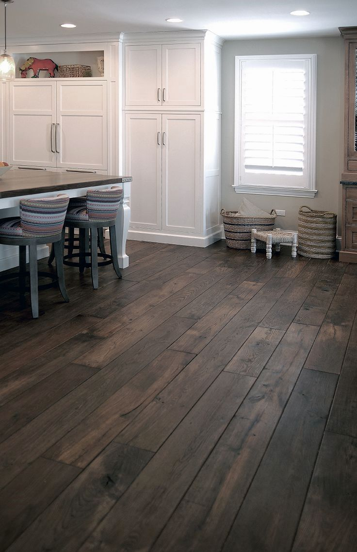 17 Ideas of Dark Wood Floors Design For Your Attractive House Area