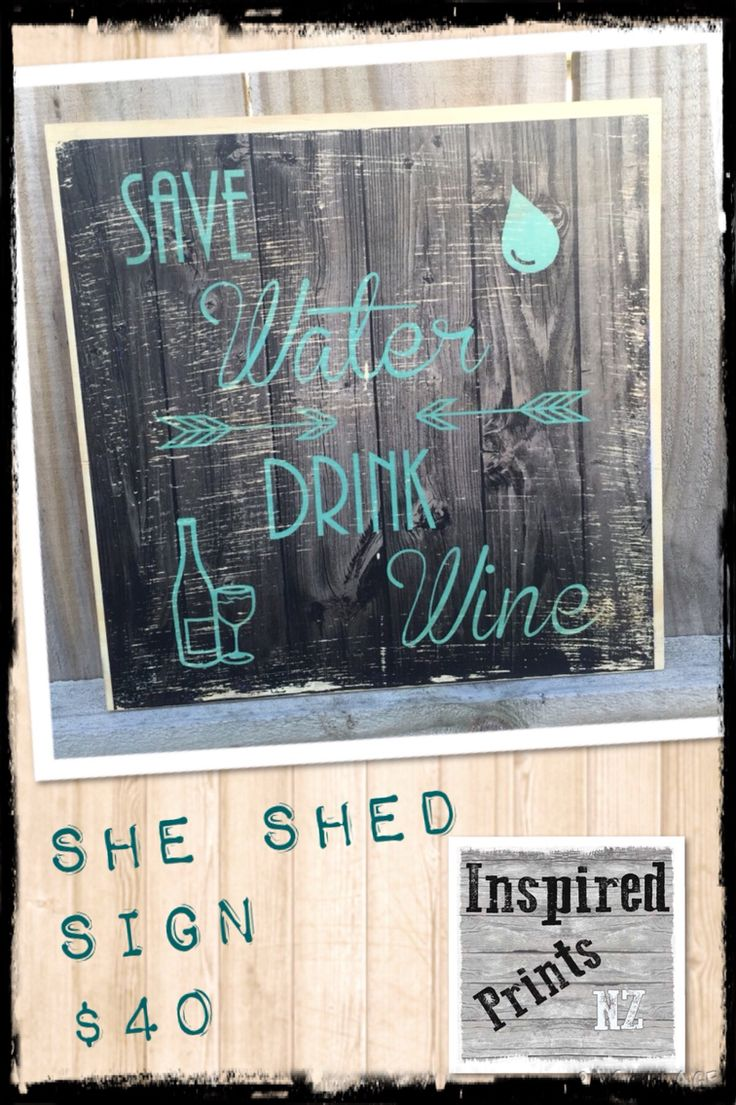 Wooden boards save water drink wine wooden prints