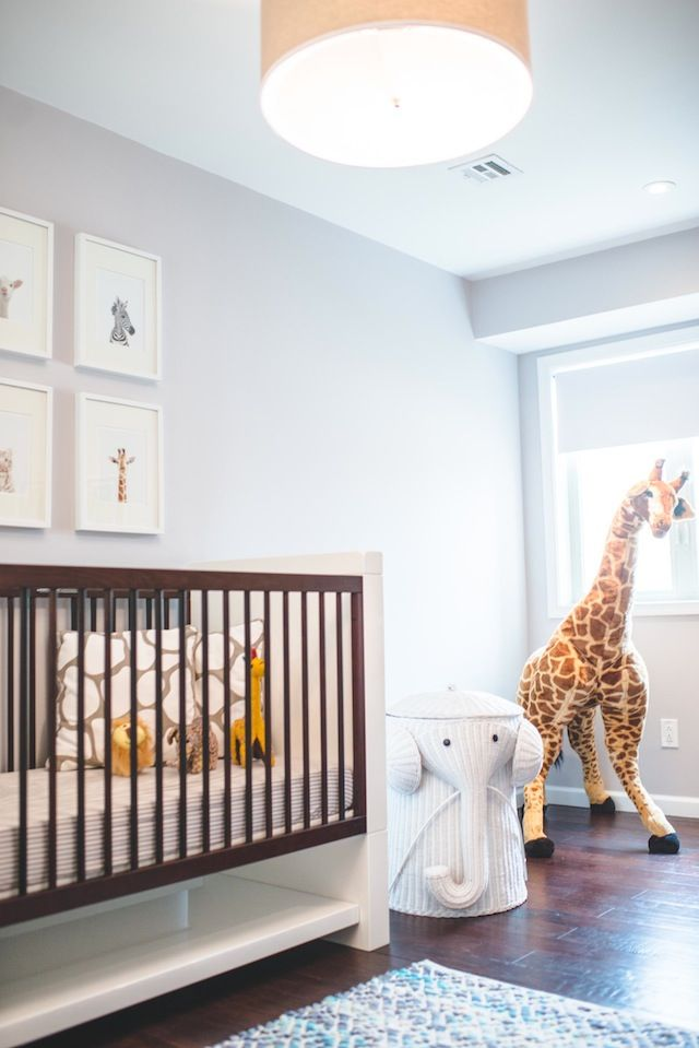 Sneak-A-Peek // Dillon's Safari Nursery