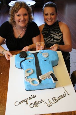 Life Cake & Whimsy: Police Academy Graduation: The Cop Cake