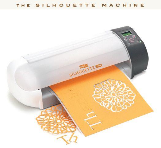 Silhouette Digital Cutting Machine (http://silhouetteamerica.com)