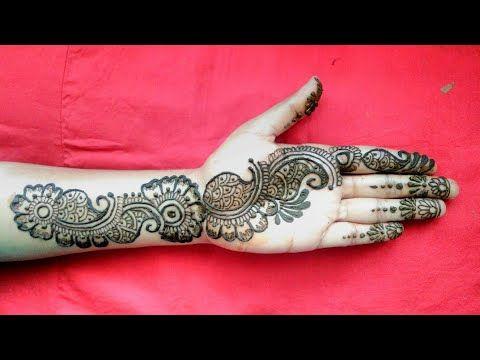 full arabic mehndi design