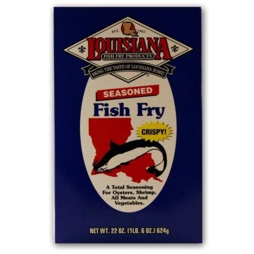 Louisiana Fish Fry Mix