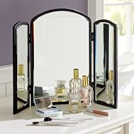 $69.00 PB Teen Trifold Beauty Mirror: Beautiful Makeup, Vanities Mirrors, Trifold Beautiful, Beautiful Mirrors, Pbteen, Bathroom Countertops, Bath Accessories, Apartments, Bedrooms Ideas