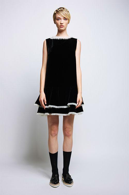 カレンウォーカー 2015年秋コレクション - ドレスライン誕生!リトルブラックドレスなど全19型の写真10