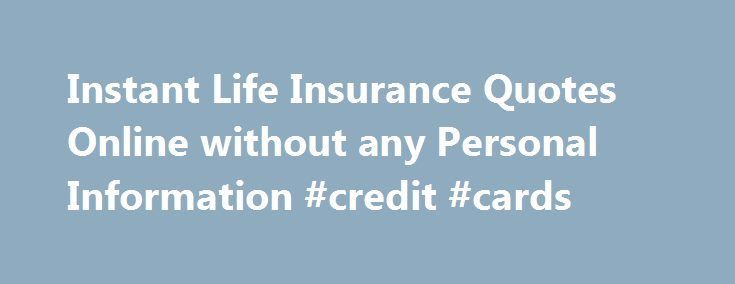 Life Insurance Quote Without Personal Information Mesmerizing Free Cheap Auto Insurance Quotes Online  Auto Insurance Unison