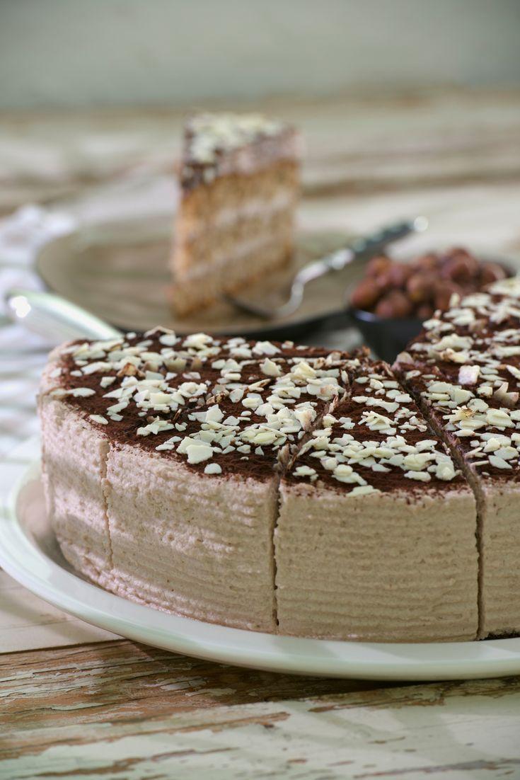 Nuss Kakao Torte Rezept Nuss Torten Und Schokoladen Rezepte