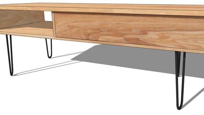 TABLE BASSE TWIST, Maisons du monde. Réf: 138850 prix129,90 € - 3D Warehouse