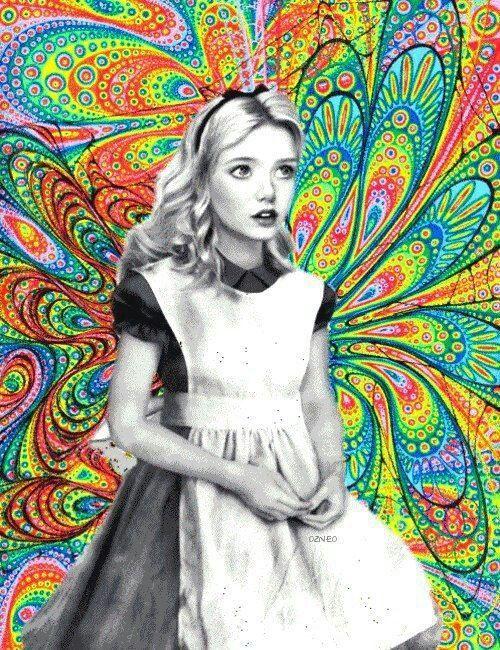 Alicia en el ombligo de los fractales