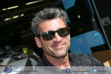 Patrick Dempsey Twitter Official | Patrick Dempsey filming at Le Mans | The official website of 24 Heures ...