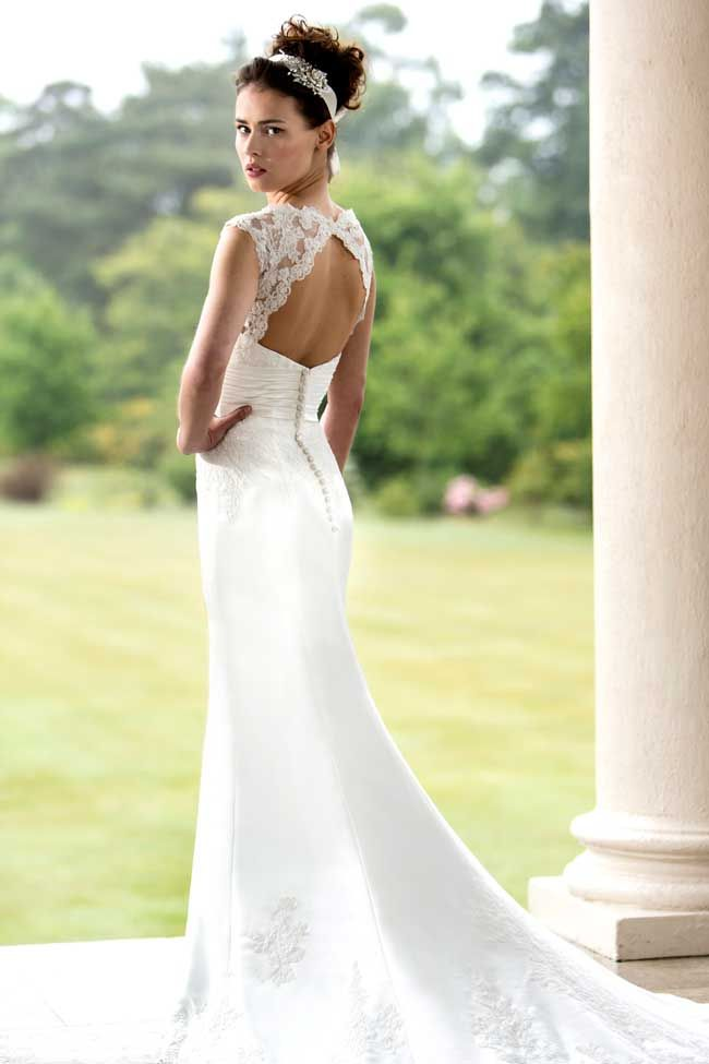 Lovely  of the best floral wedding dresses for a country garden theme