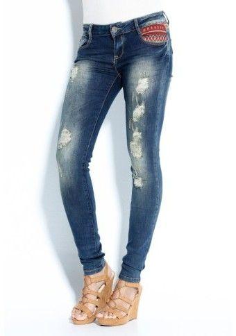 Ethno jeans #modino_cz #modino_style #ethno #jeans #style #fashion #OUTFIT #sexy
