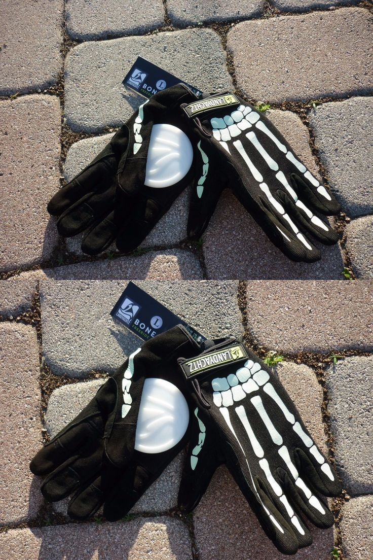 Wheels 165946: *New* Landyachtz Bones Glow Downhill Slide Gloves Longboard Skateboard Large Lg -> BUY IT NOW ONLY: $34.99 on eBay!