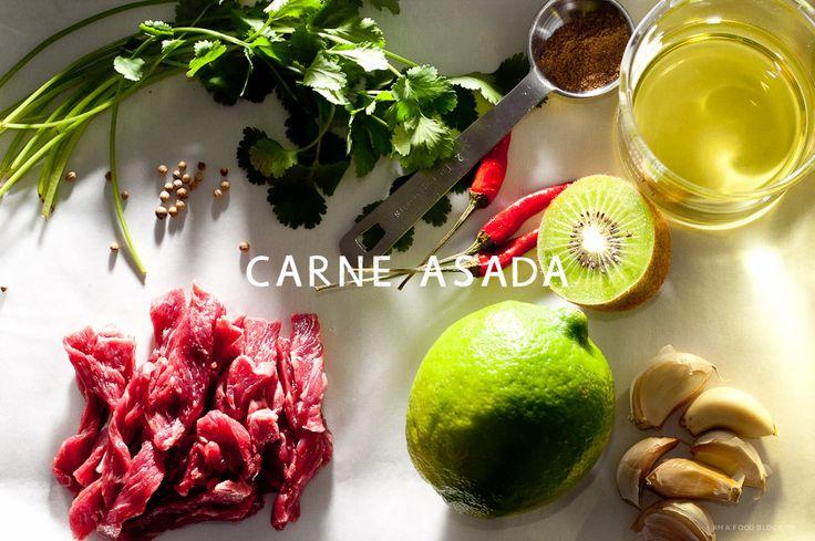 Make carne asada tacos at home with this flat iron carne asada taco recipe!