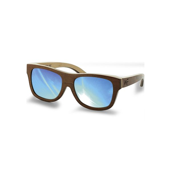 Okulary Wood Fellas Tanjung brown/natural/blue   Akcesoria \ Okulary   MagicTown, Incase, Stussy, RocaWear, Southpole, Crooks & Castles, Mitchell & Ness, Starter