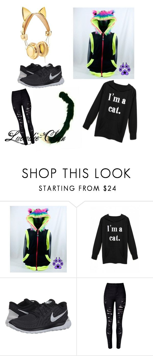 Cause, y'know, NEH~ (Requested bye Lily-Senpai) by lucadie-chan on Polyvore featuring NIKE