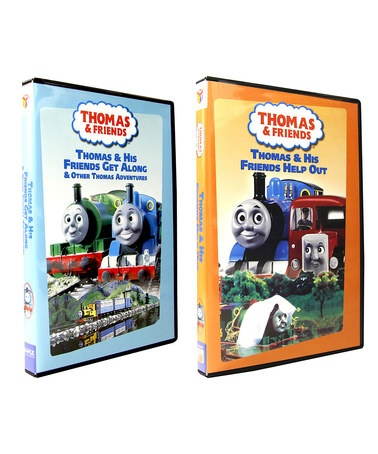 Take a look at this Thomas and His Friends Get Along & Help Out DVD Set by iNetVideo.com on #zulily today!