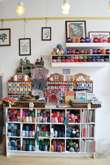 Loop   London-  would definitly need to have some crafty items