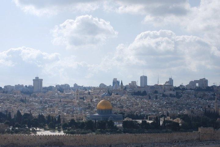 Overlooking Jerusalem, Israel. Photo credit: Michelle Collier.