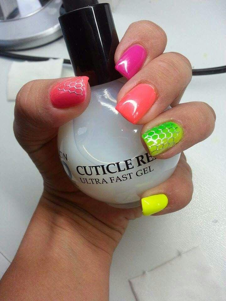 Kolorowe żele :)