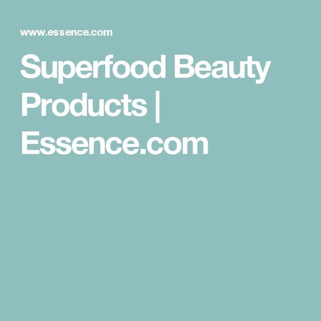 Superfood Beauty Products | Essence.com