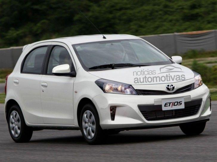 Toyota Etios Facelift Brazil