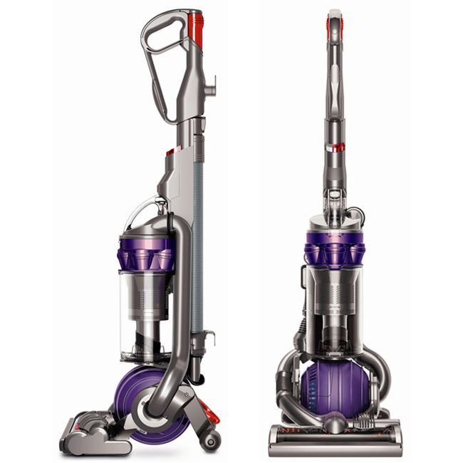Say farewell to pet hair with this Dyson upright pet vacuum with cyclone technology. This vacuum is designed to remove pet hair from your carpet and has a HEPA filter that traps up to 99.9 percent of other allergens, like pollen and dust mites.