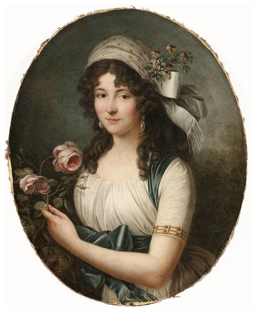 Marie Victoire Lemoine Portret kobiety, ok. 1789