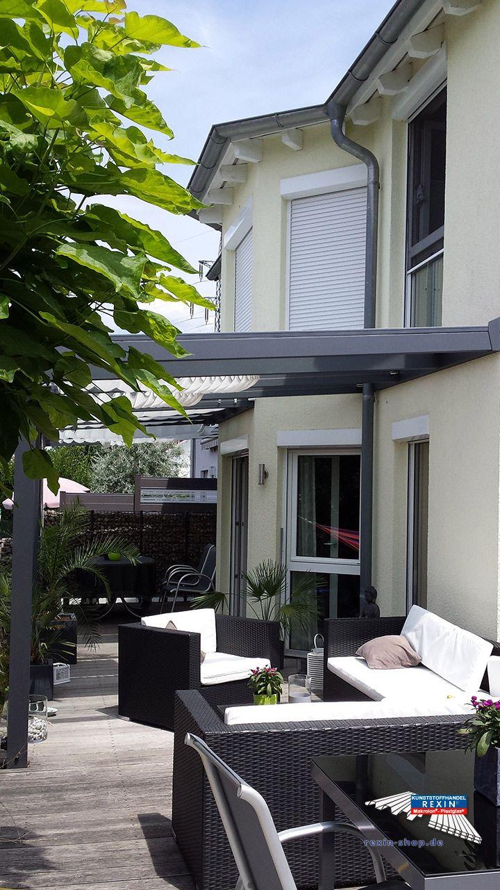 alu terrassendach der marke rexopremium 10m x 4m in anthrazit mit 8mm vsg glas bei diese alu. Black Bedroom Furniture Sets. Home Design Ideas