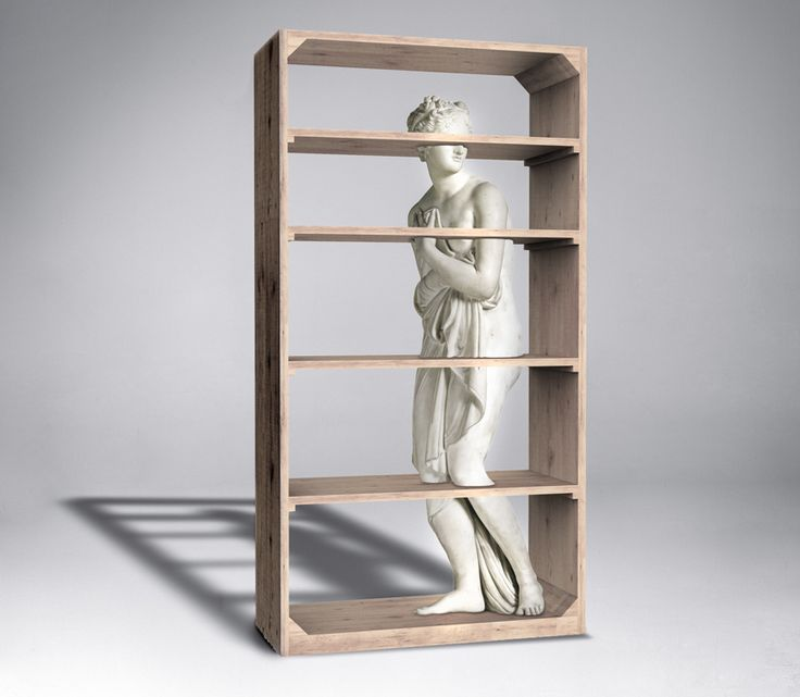 fabio novembre venus bookcase driade designboom