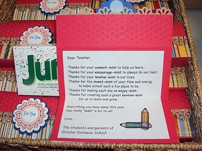 Junior Mints Teacher Appreciation