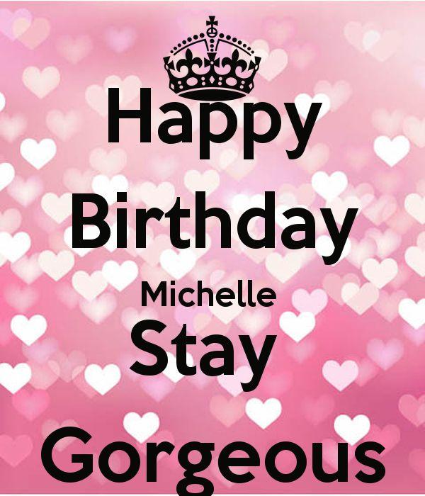 Happy Birthday  Cake Michelle Meme