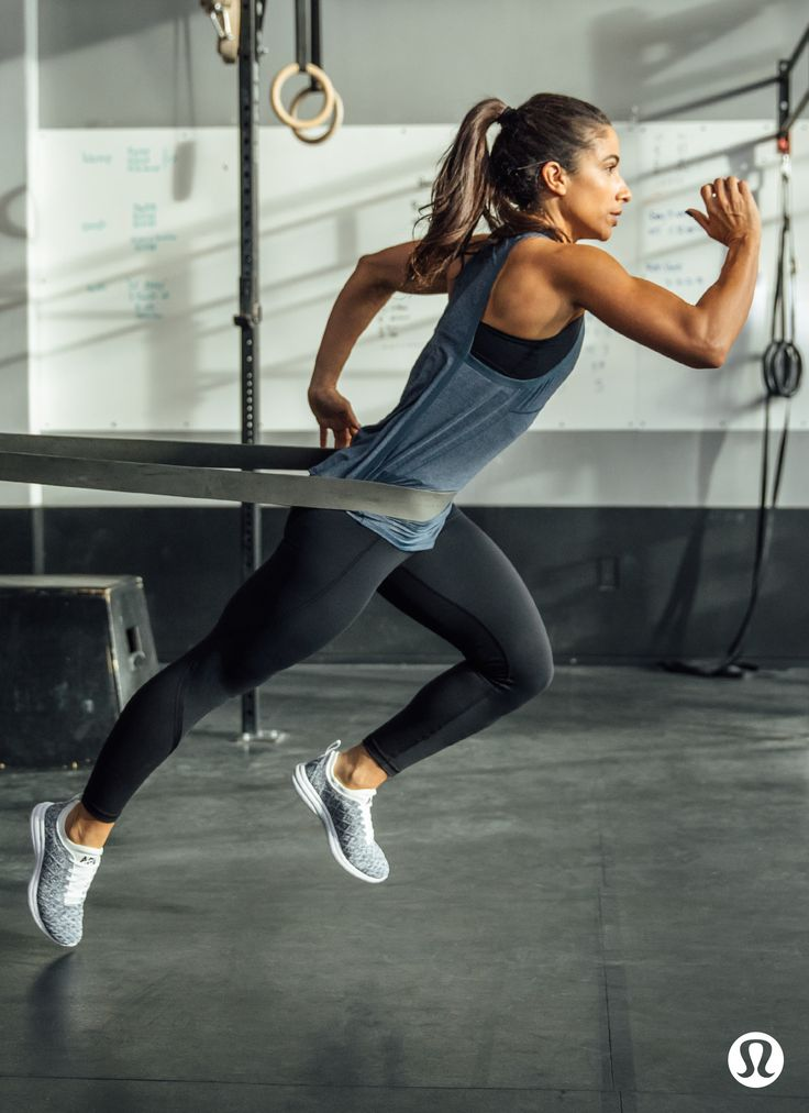 Power through a sweaty workout in distraction-free lululemon gear.