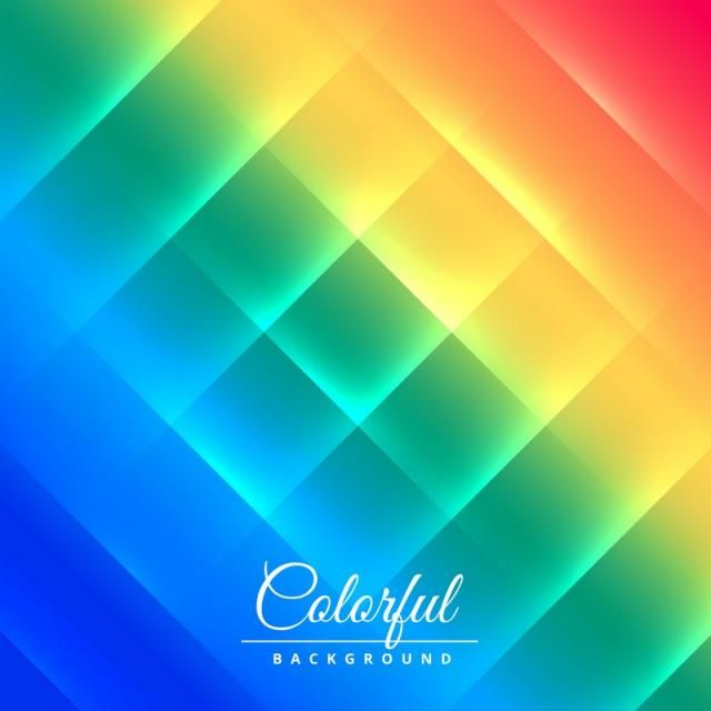 Shiny Colorful Background Poster Vector Design Illustration