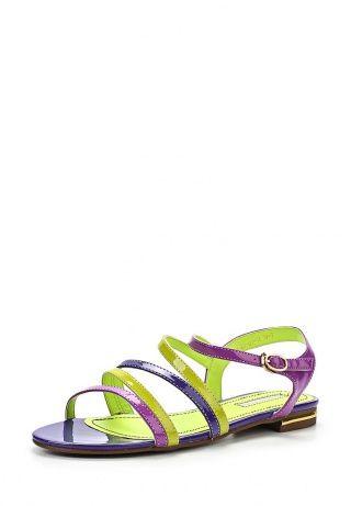 Сандалии от Inario - яркая обувь в летнем гардеробе. Верх модели создан из искусственной лакированной кожи комбинированного цвета. Детали: внутренняя отделка из искусственной кожи, плотная подошва с рисунком, тонкие надежные ремешки. http://j.mp/1t0L04X