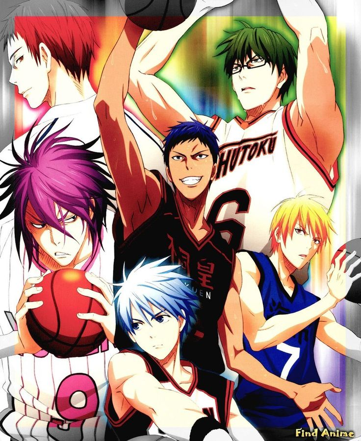 Generation Of Miracles Kurokos BasketballKuroko No