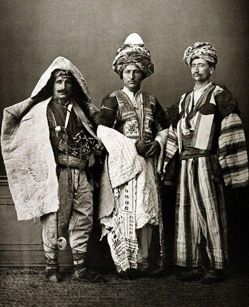 Kurdish costumes, 1873. Please like http://www.facebook.com/RagDollMagazine and follow @RagDollMagBlog @priscillacita