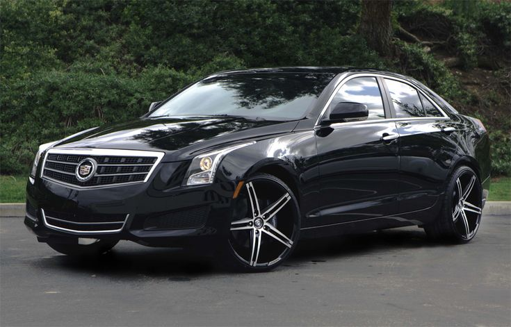 Lexani R03 Black Machined Wheels On Cadillac Ats Wheels